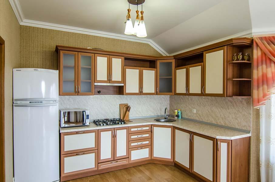 Кухня оборудована всем необходимым