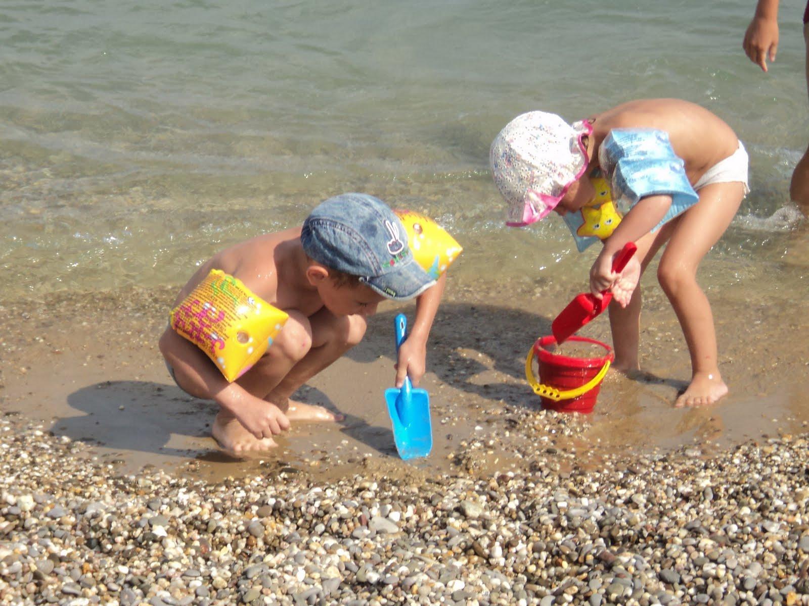 Семейный отдых с детьми в Евпатории на море