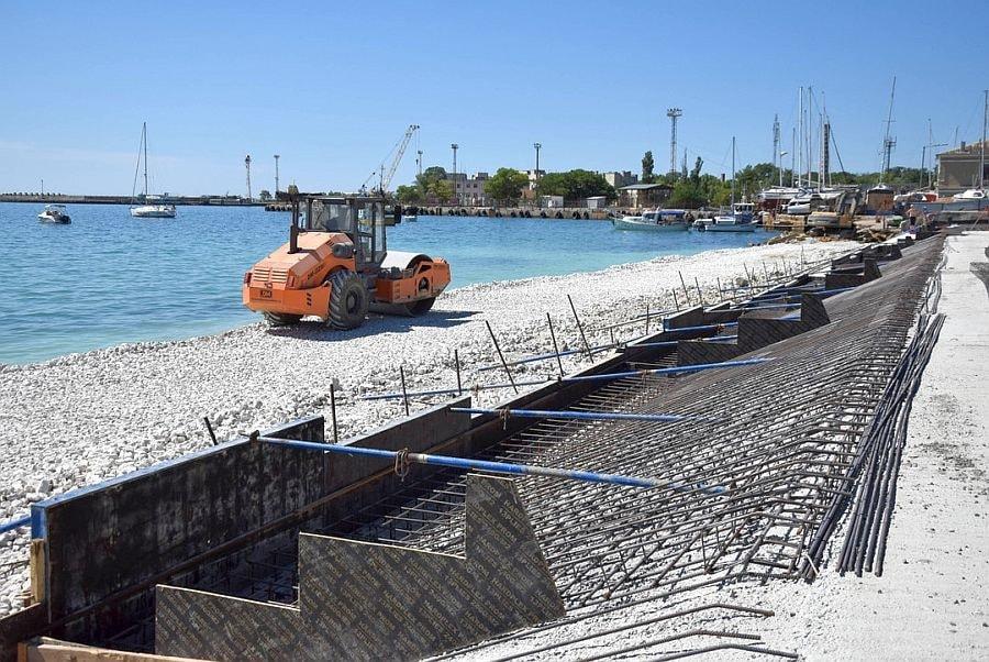 ремонт набережной Евпатория
