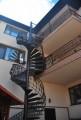 Винтовая лестница с балконами