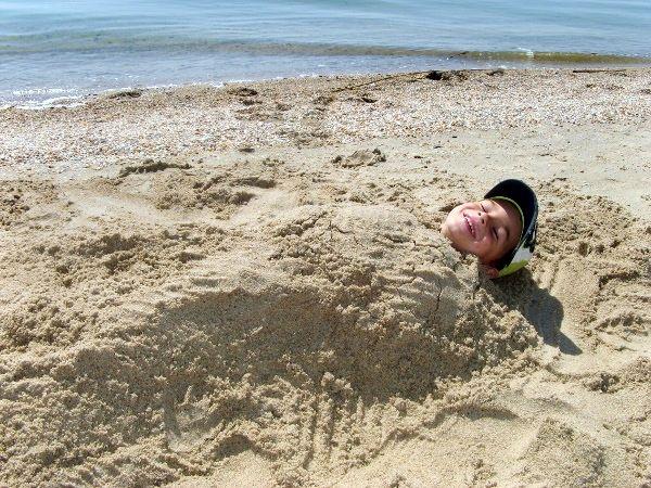 целебный песок