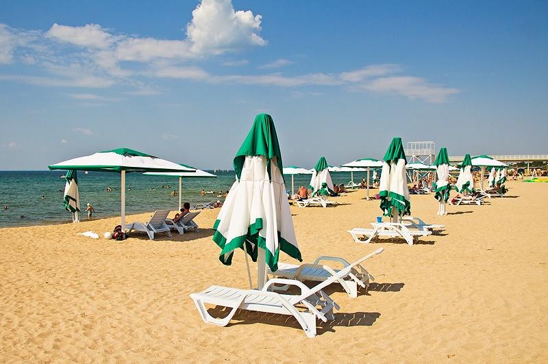 платные пляжи Евпатория