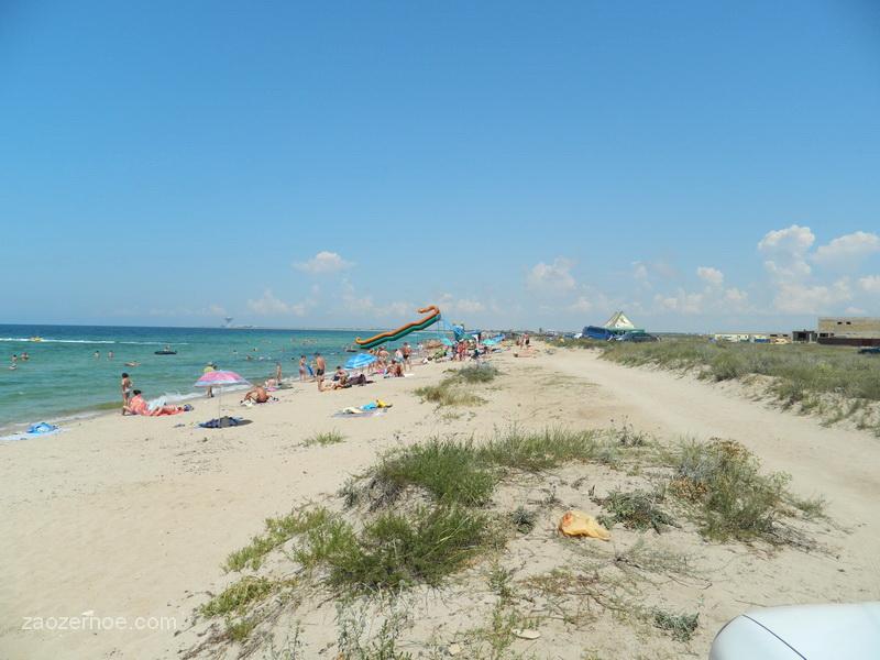 бесплатные пляжи Евпатория