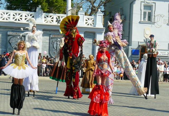 Евпатория - Театральная площадь
